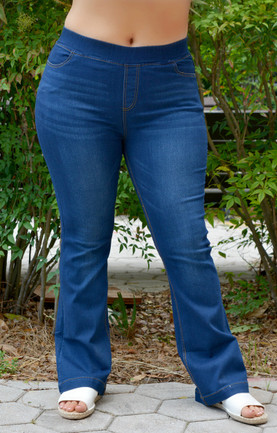 3db317dc639 Life Is Sweet Flare Jeggings - Dark Wash