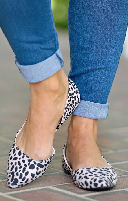 86a6329cb223 Make It Last Leopard Print Flats - Perfectly Priscilla Boutique