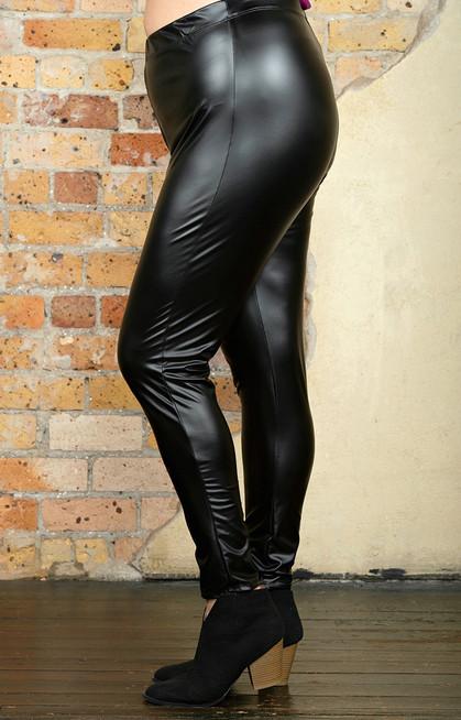 e5b89aed21dc4 Can't Escape Faux Leather Leggings - Black - Perfectly Priscilla Boutique