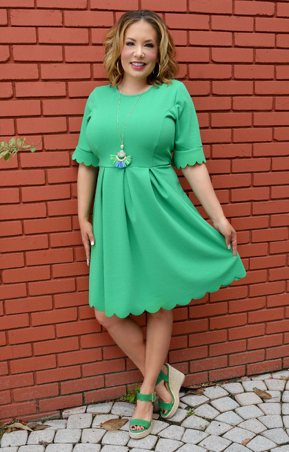 b961a719cad Addicted To You Dress - Emerald - Perfectly Priscilla Boutique