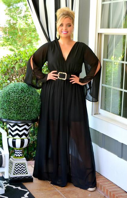 f8d5c6a83c248 As You Wish Maxi Dress - Black - Perfectly Priscilla Boutique
