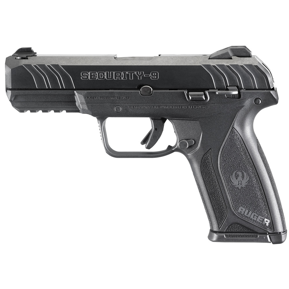 """Ruger Sec-9 9mm 4"""" Bl 15rd 3-dot"""