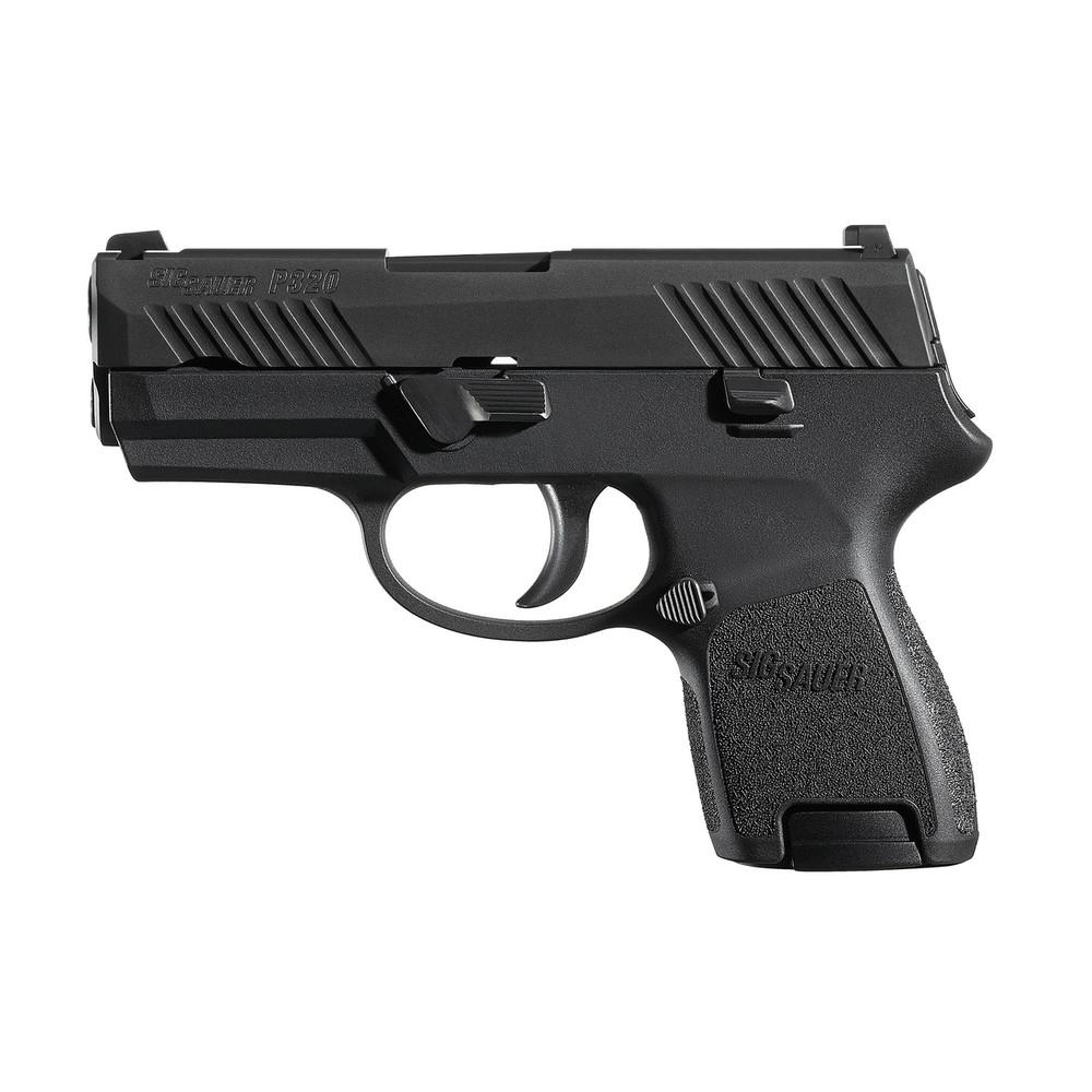 """Sig P320sc 9mm 3.6"""" 12rd Blk Fs"""