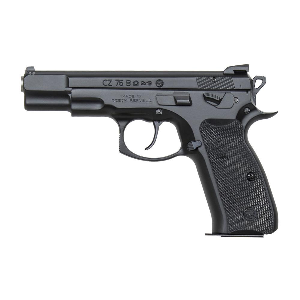 """Cz 75b Omega 9mm 4.6"""" Blk 16rd"""
