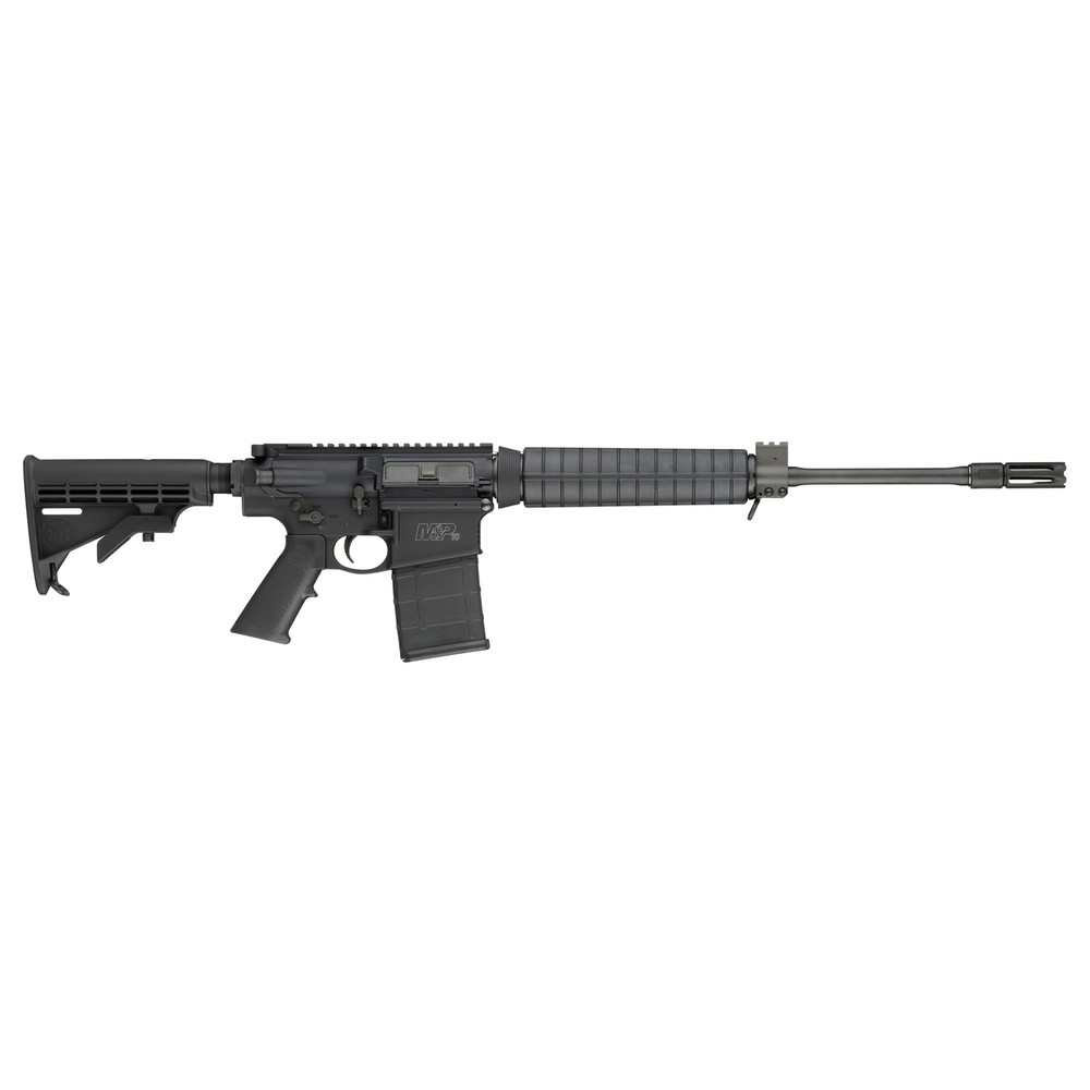 """S&w M&p10 308win 18"""" 20rd Blk 6 Pos"""