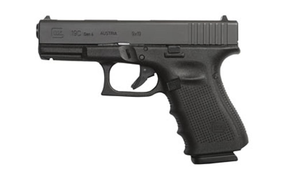 Glock 19c Gen4 9mm 15rd 3 Mags