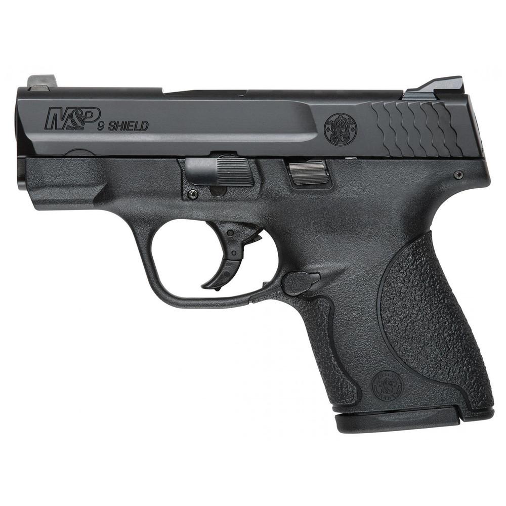 "S&w Shield 9mm 3.1"" Blk 8rd Ma"