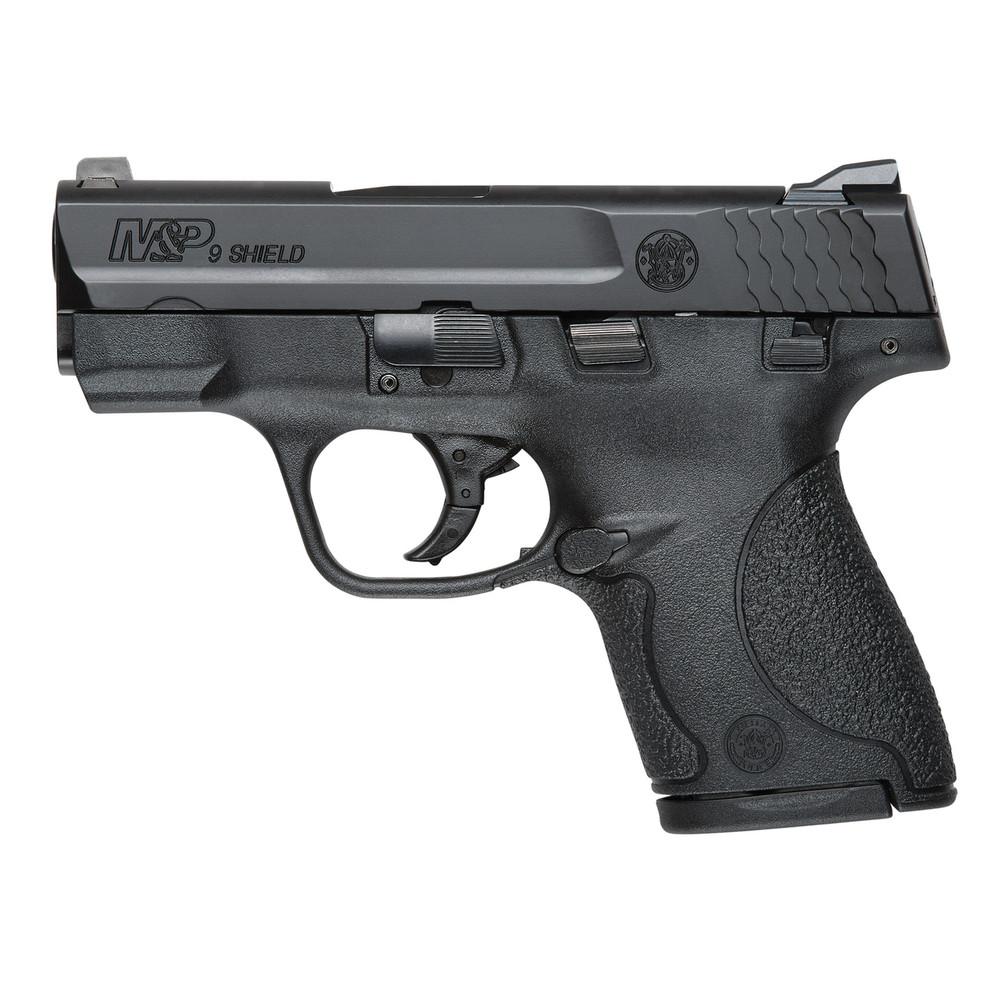 "S&w Shield 9mm 3.1"" Blk 7&8rd Ts"