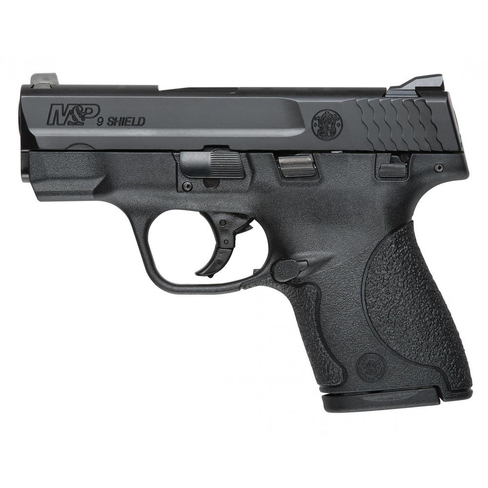 "S&w Shield 9mm 3.1"" Blk 7&8rd Mass"