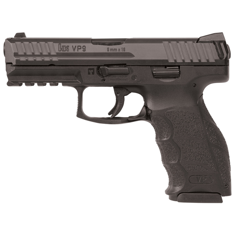 "Hk Vp9 9mm 4.09"" 10rd Blk 2mags"