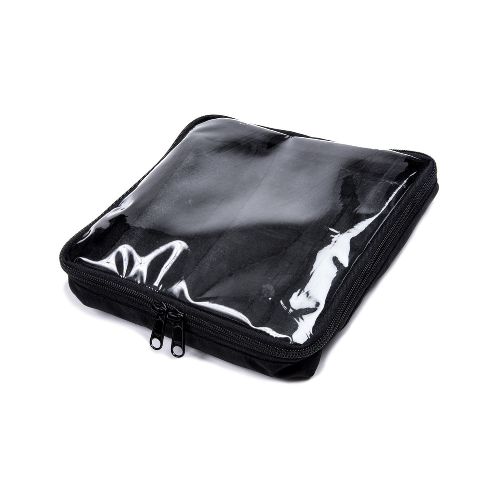 Haley Large Clear Top Insert Bag Blk