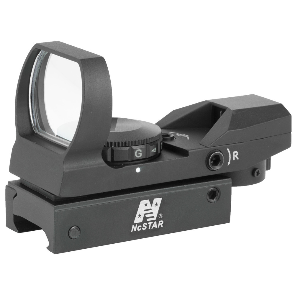 Ncstar Red/grn Dot Reflex Sight Blk