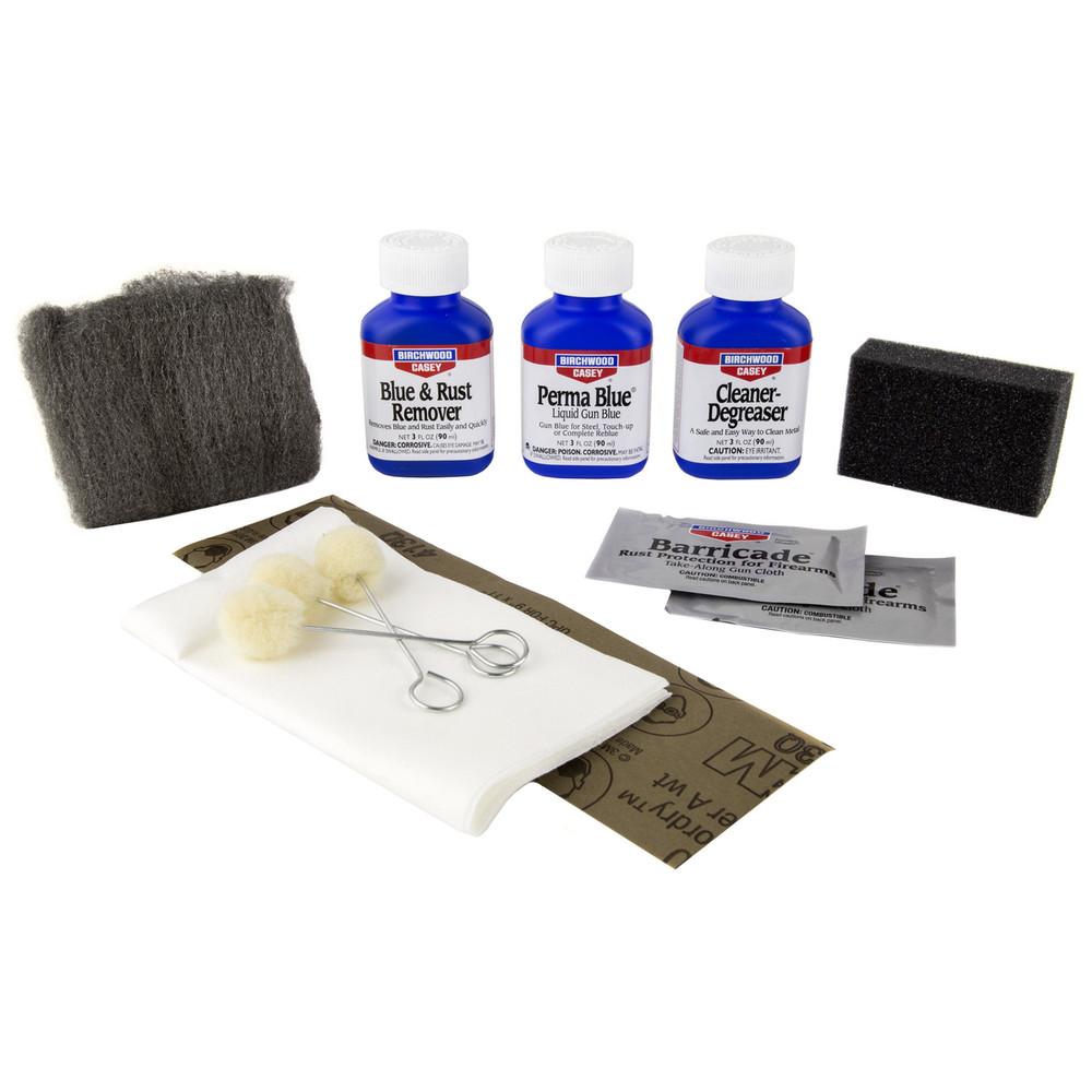 B/c Perma Blue Liquid Gun Blue Kit