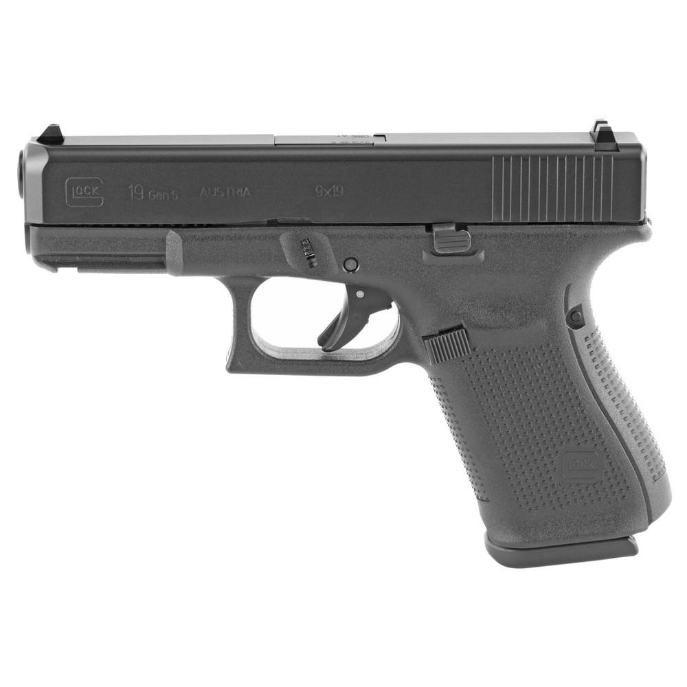 Glock 19 Gen5 9mm 15rd 3 Mags