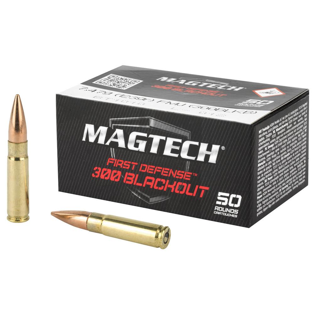 Magtech 300blk 123gr Fmj 50/1000