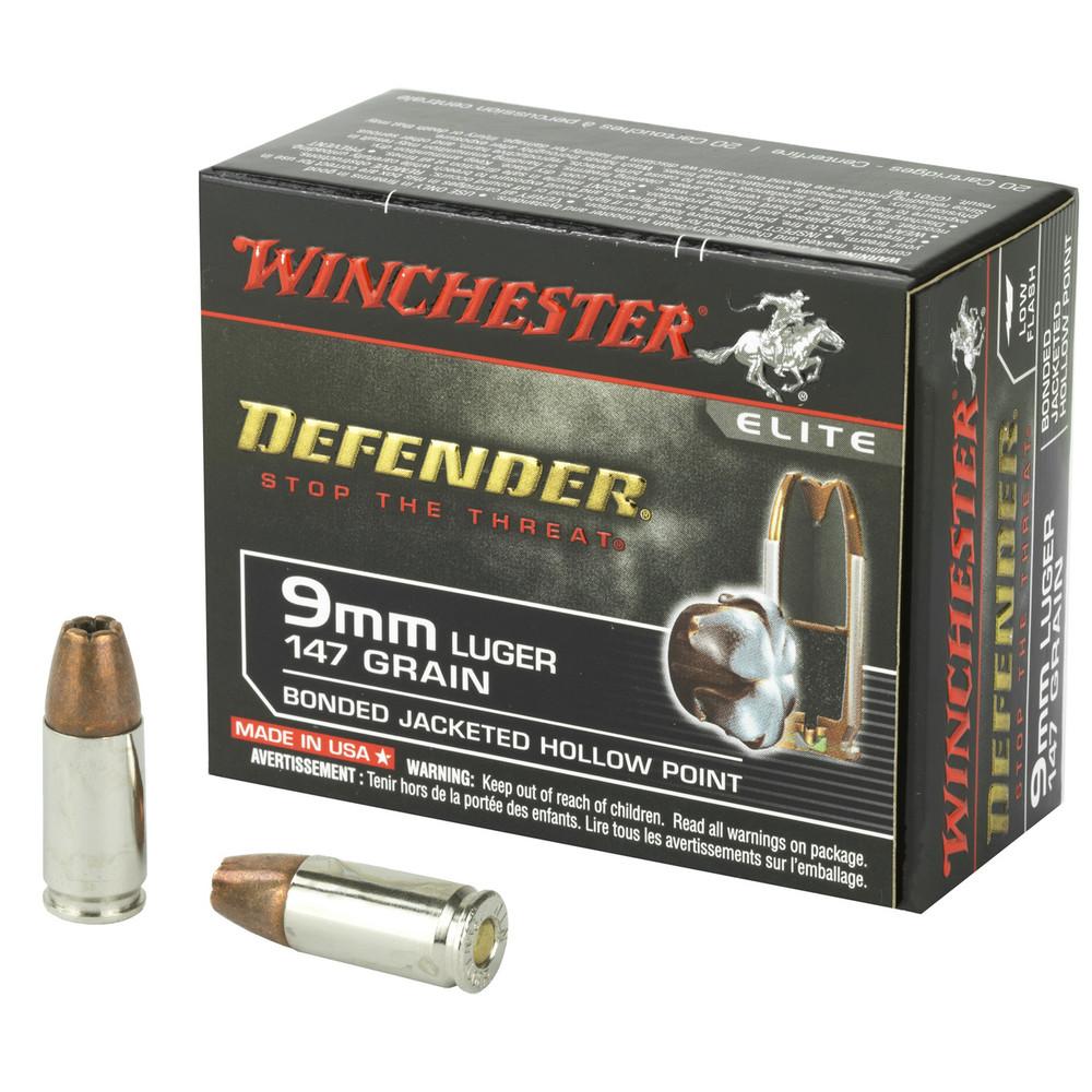 Win Defender 9mm 147gr Jhp 20/200