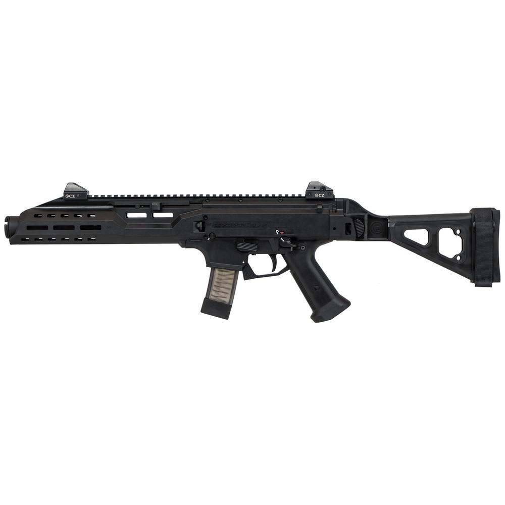Cz Scorpion Evo3 S1 9mm Blk Brc 10rd