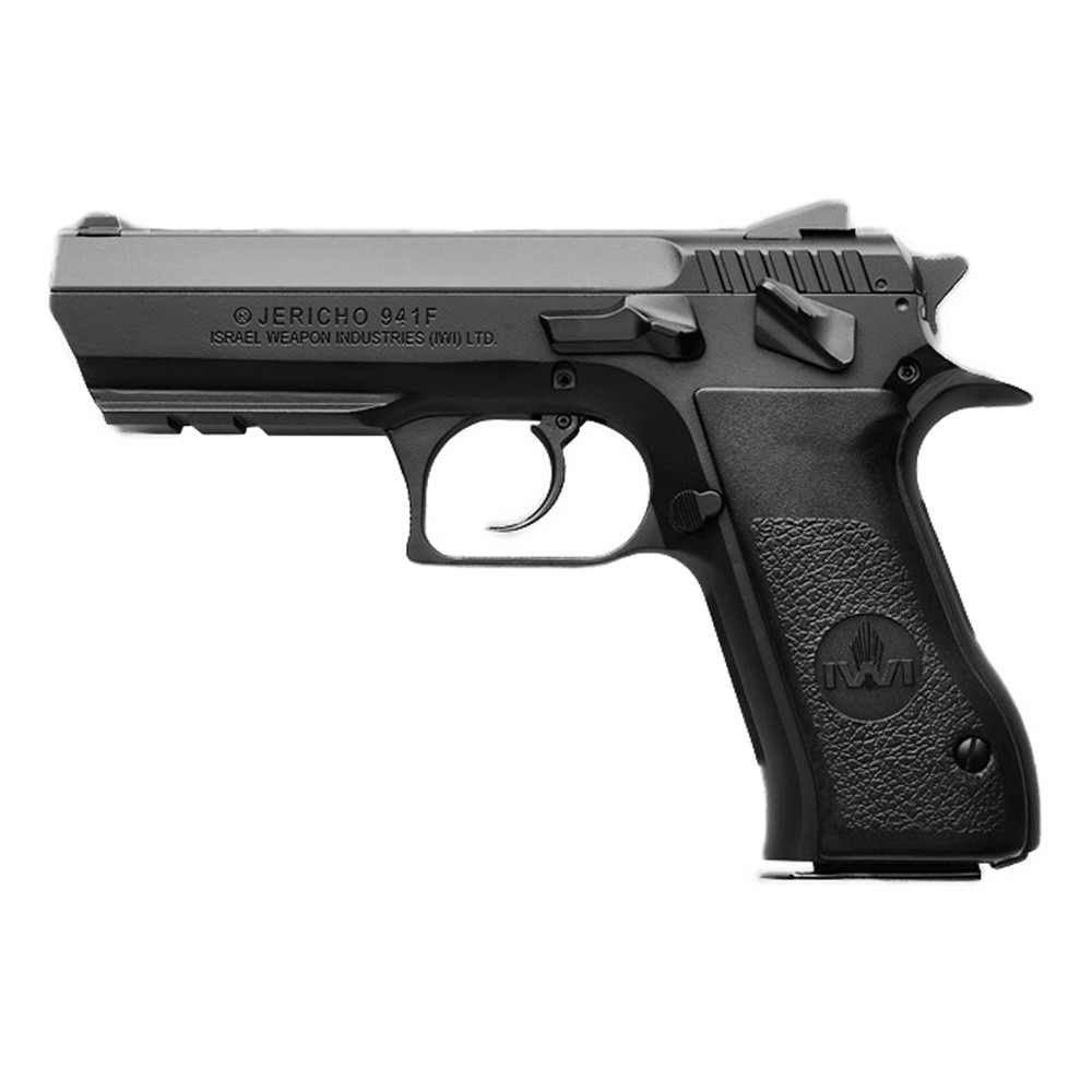 "Iwi Jer 941 9mm 4.4"" 10rd Blk Steel"