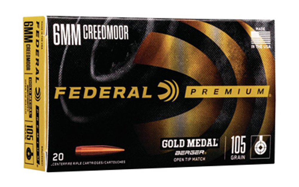 Fed Gold Mdl 6.5grn 105gr  Berg 20/2