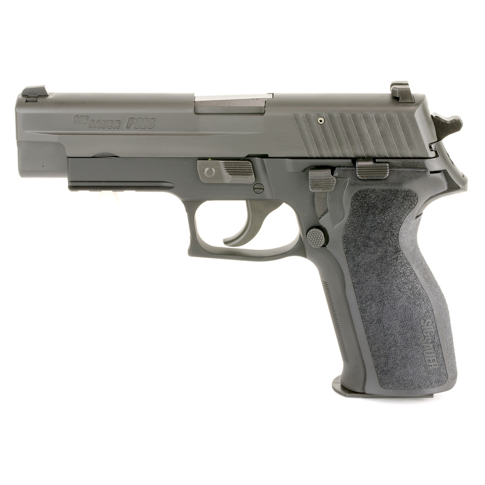 "Sig P226 9mm 4.4"" Blk 10rd Ns"