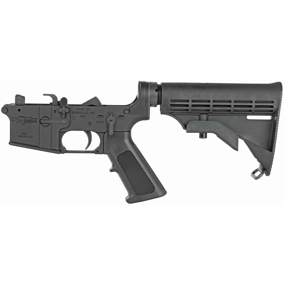 Cmmg Lower Complete 9mm W/6-pos