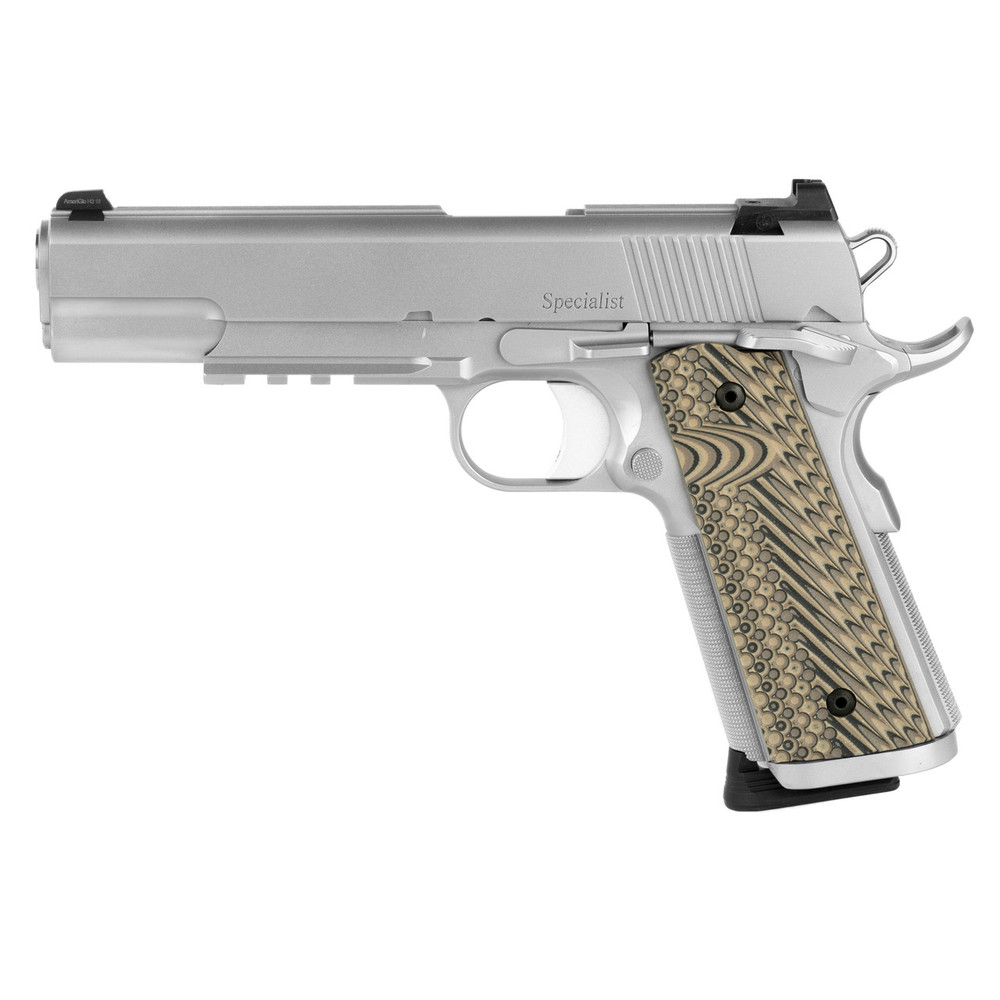 """D Wes Specialist 45acp 5"""" Sts Ns 8rd"""