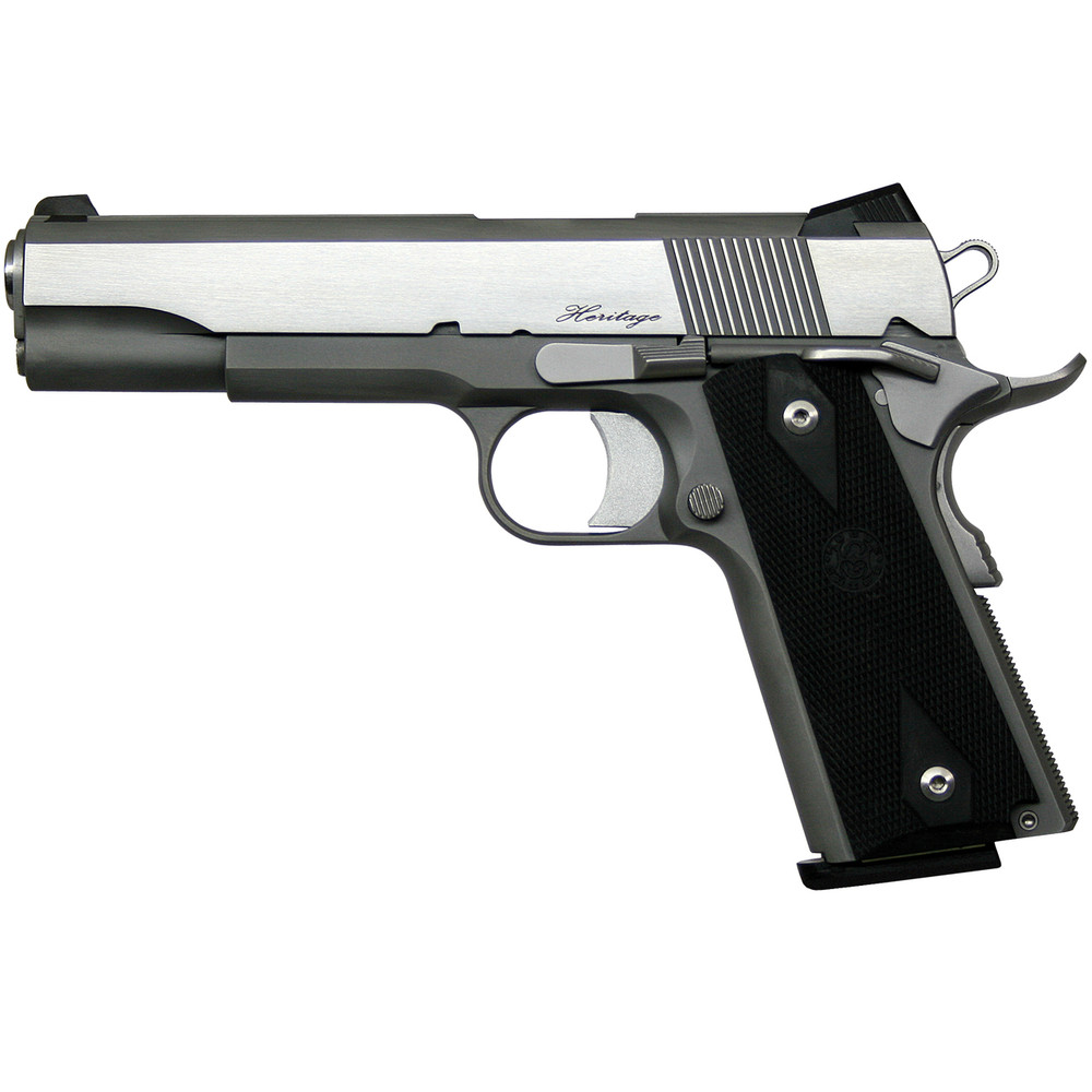 "D Wes Rz-45 Heritage 45acp 5"" Sts Ns"