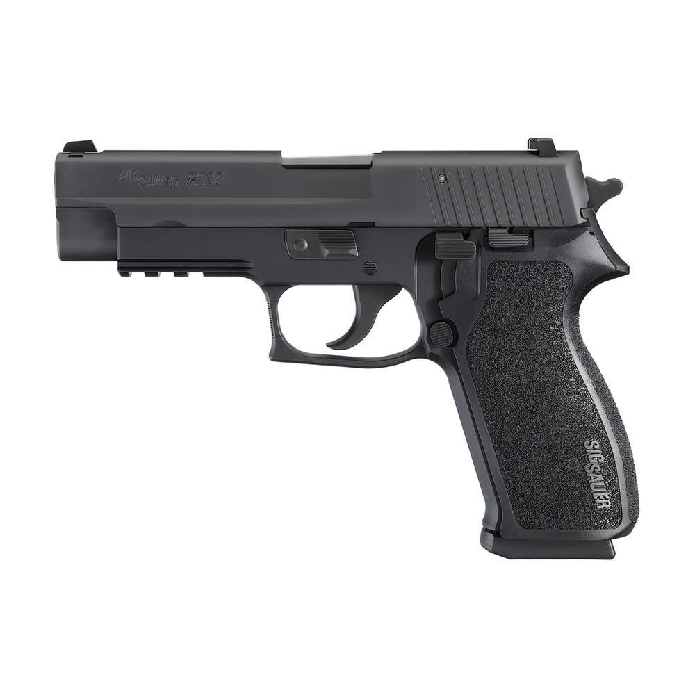 """Sig P220 45acp 4.4"""" Blk 8rd Ns Ca"""