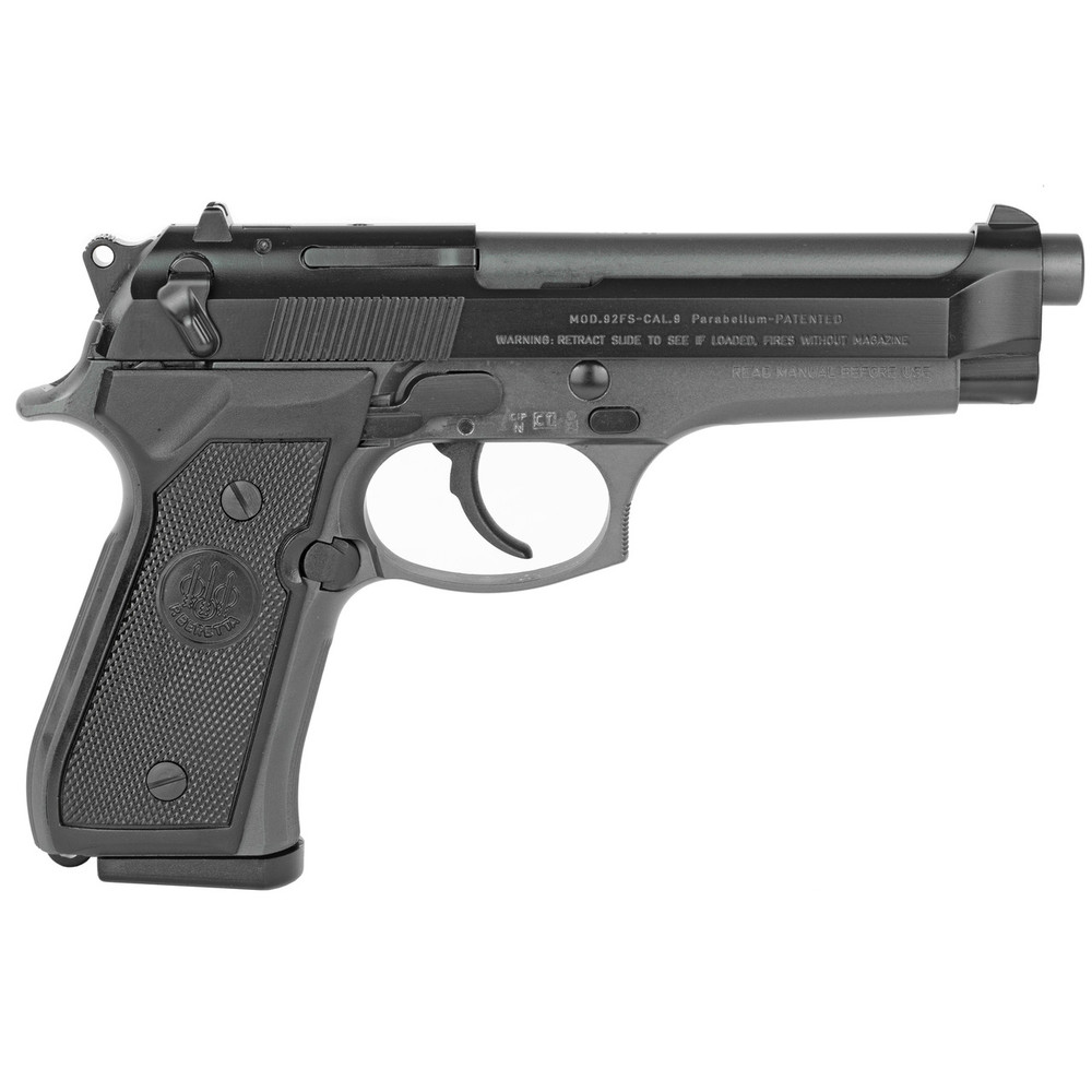 "Beretta 92fs 9mm 4.9"" 2-10rd Gray"