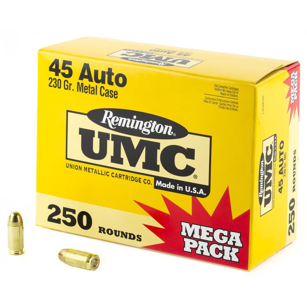 Rem Umc Mp 45acp 230gr Fmj 250/1000