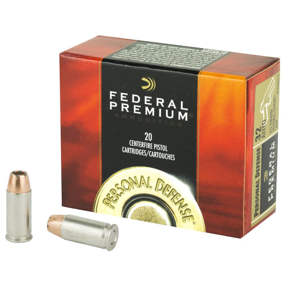 Fed Hydra-shok 32acp 65gr Jhp 20/500