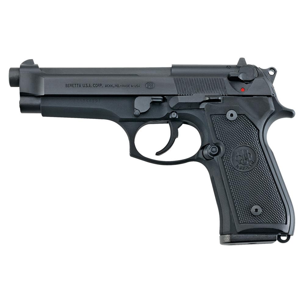 """Beretta 92fs 9mm 4.9"""" Bl 2-10rd Itly"""