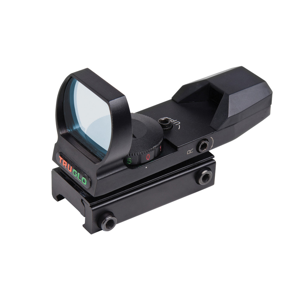 Truglo Open Red Dot Dual Color Black