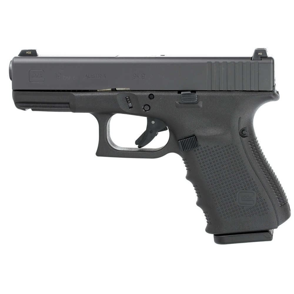 Glock 19 Gen4 9mm Gns 10rd 3 Mags