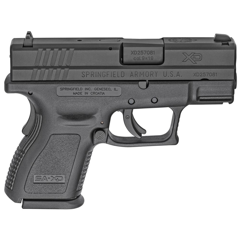"Sprgfld Xd9 Def 9mm 3"" Blk 10rd"