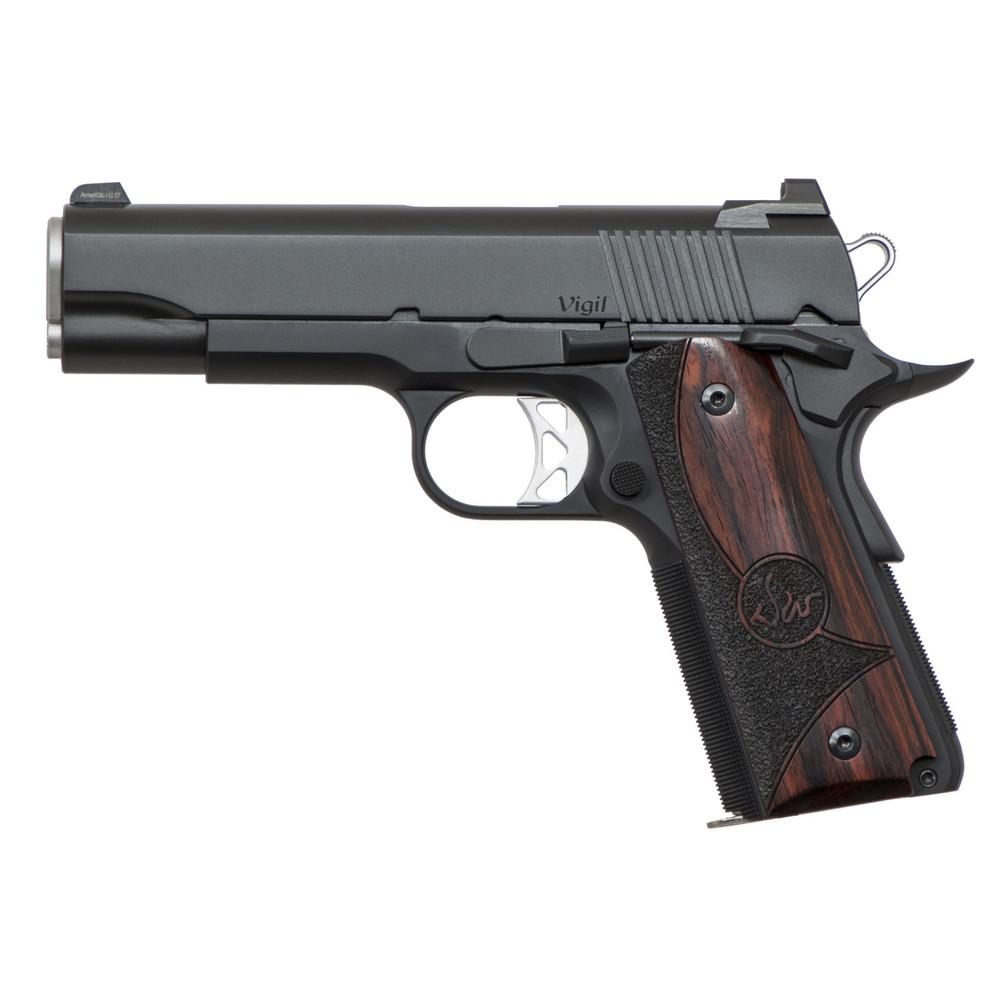 "D Wes Vigil Co 9mm 4.25"" Blk 9rd"