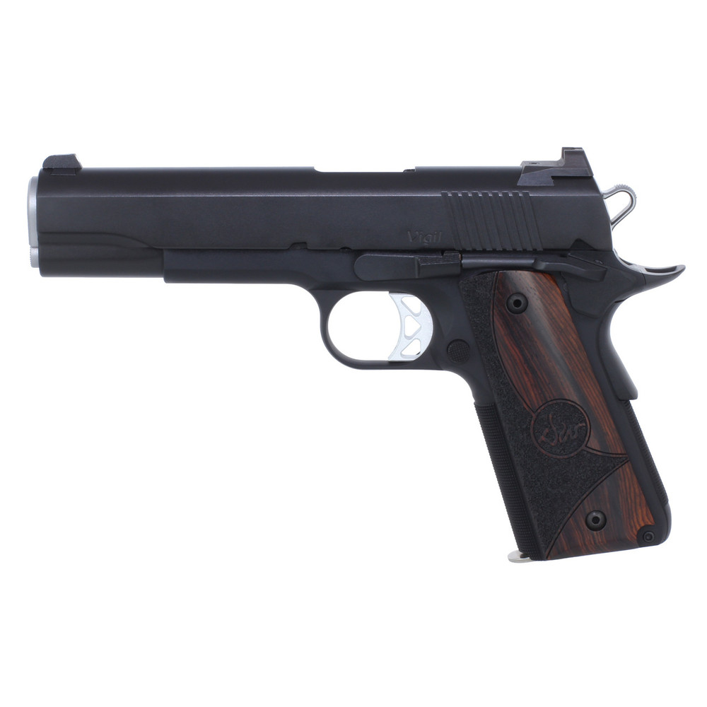 """D Wes Vigil 9mm 5"""" Blk 9rd Ns"""