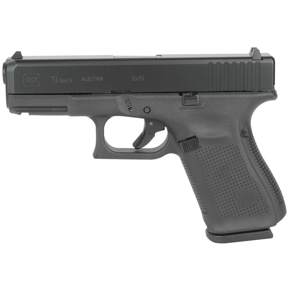 Glock 19 Gen5 9mm 15rd 3 Mags - GLUA1950203