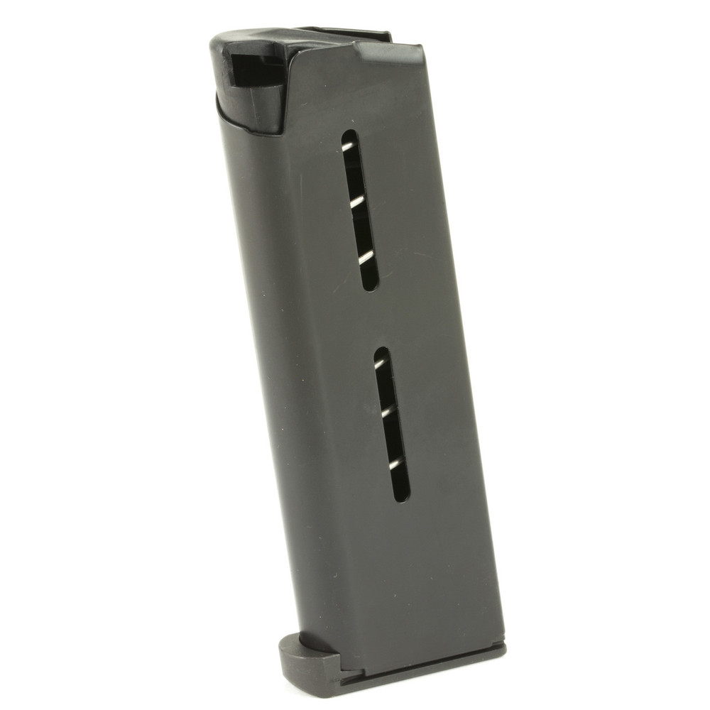 Mag Wilson Ofc .45 7rd Steel Pad Blk