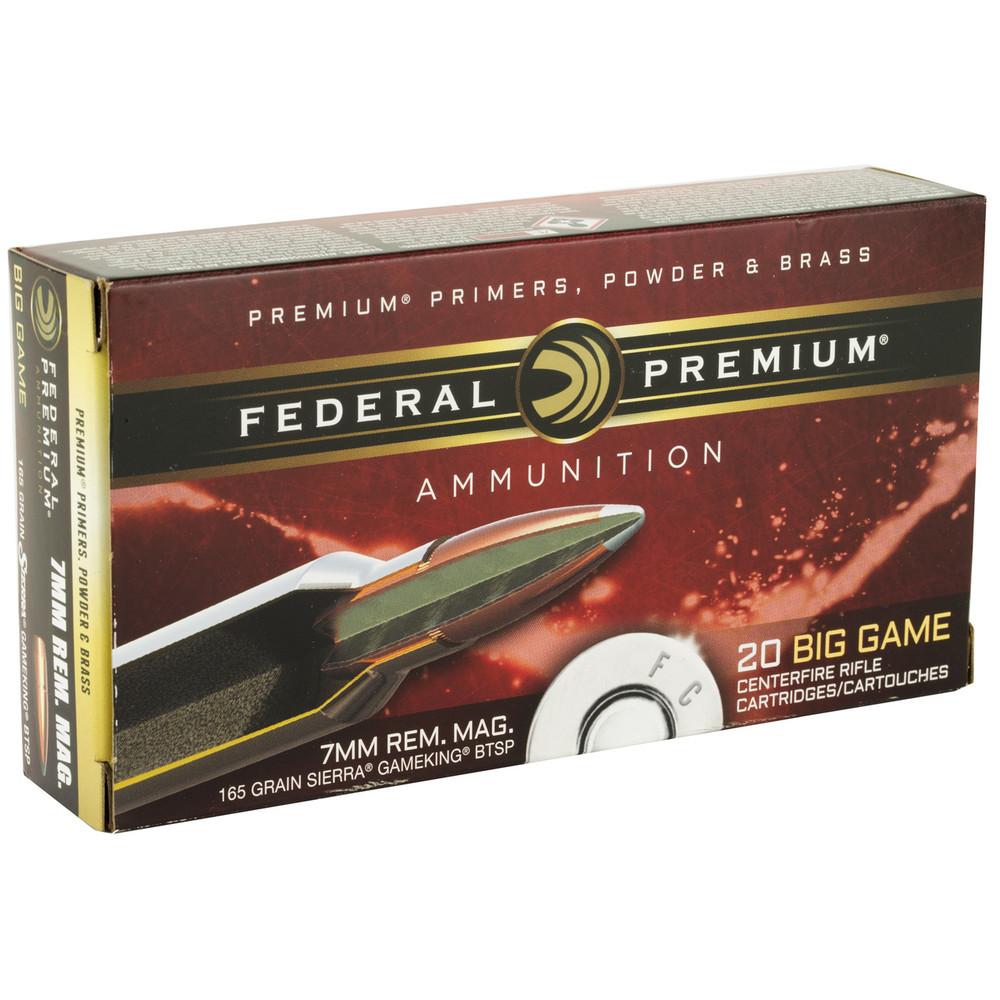 Fed Prm 7mmrem 165gr Btsp 20/200