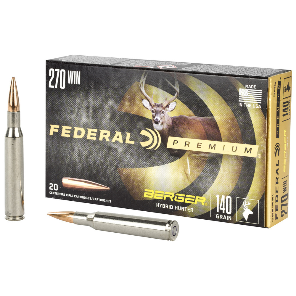 Fed Prm 270win 140gr Hyb Htr 20/200
