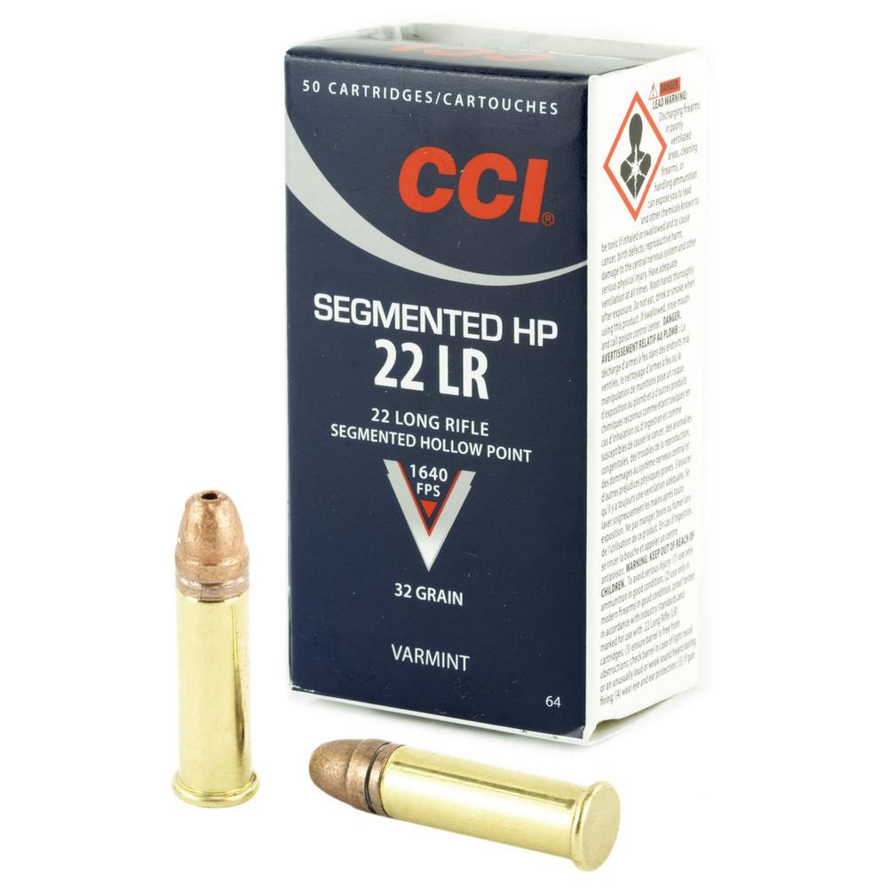 Cci 22lr 32gr Segmented Hp 50/5000