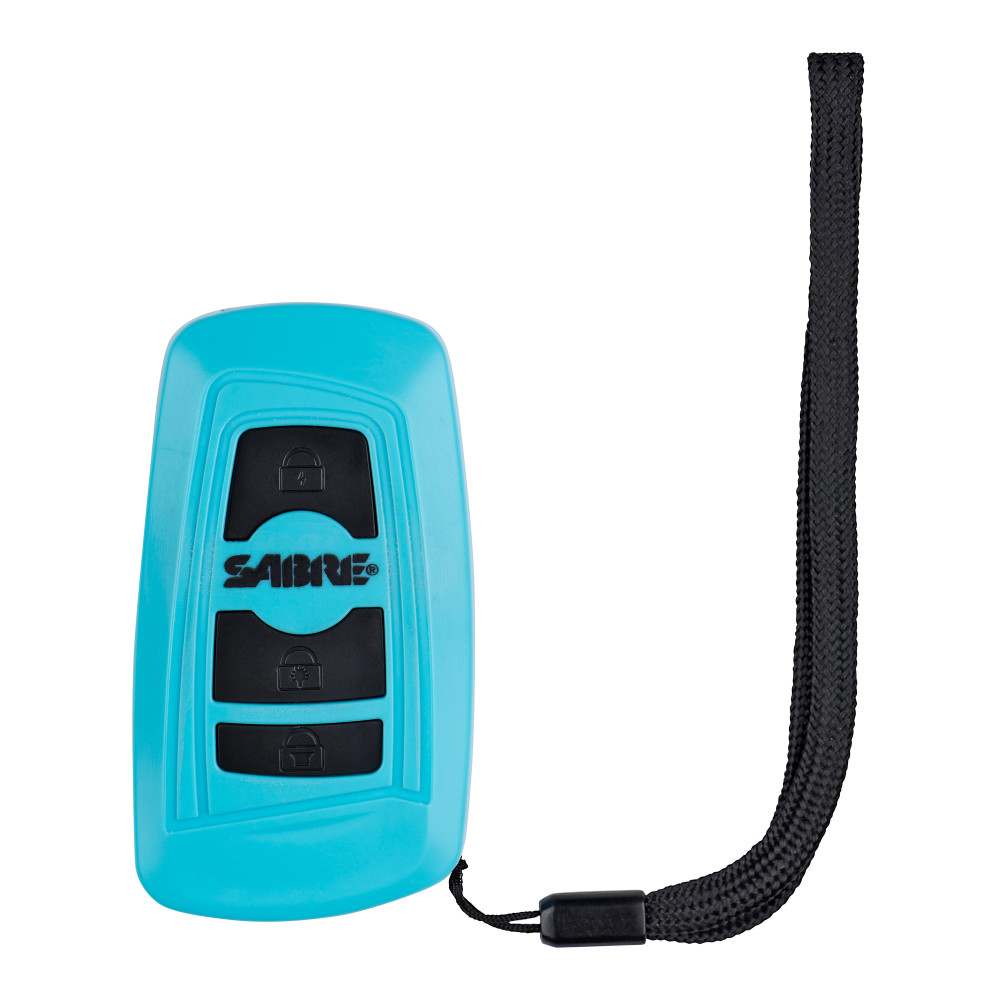 Sabre 3-in-1 Key Fob Stun Gun Teal