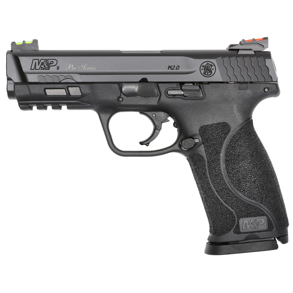 """S&w M&p 2.0 9mm 4.25"""" 17rd Blk Nms - SW11818"""