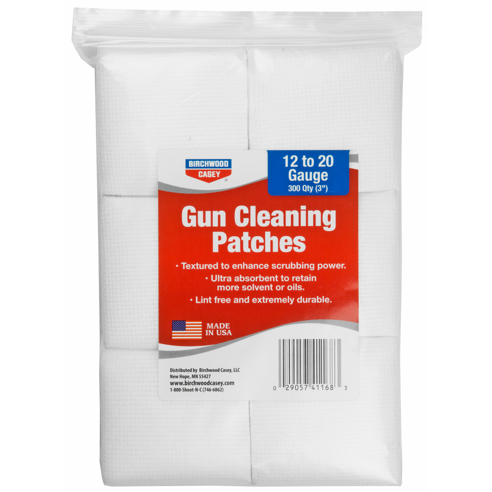 "B/c Patches 3"" 12-20ga 300pk"