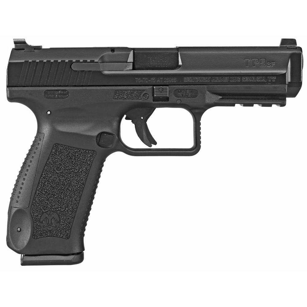 "Canik Tp9sf 1 Ser 9mm 4.45"" 18rd Blk"