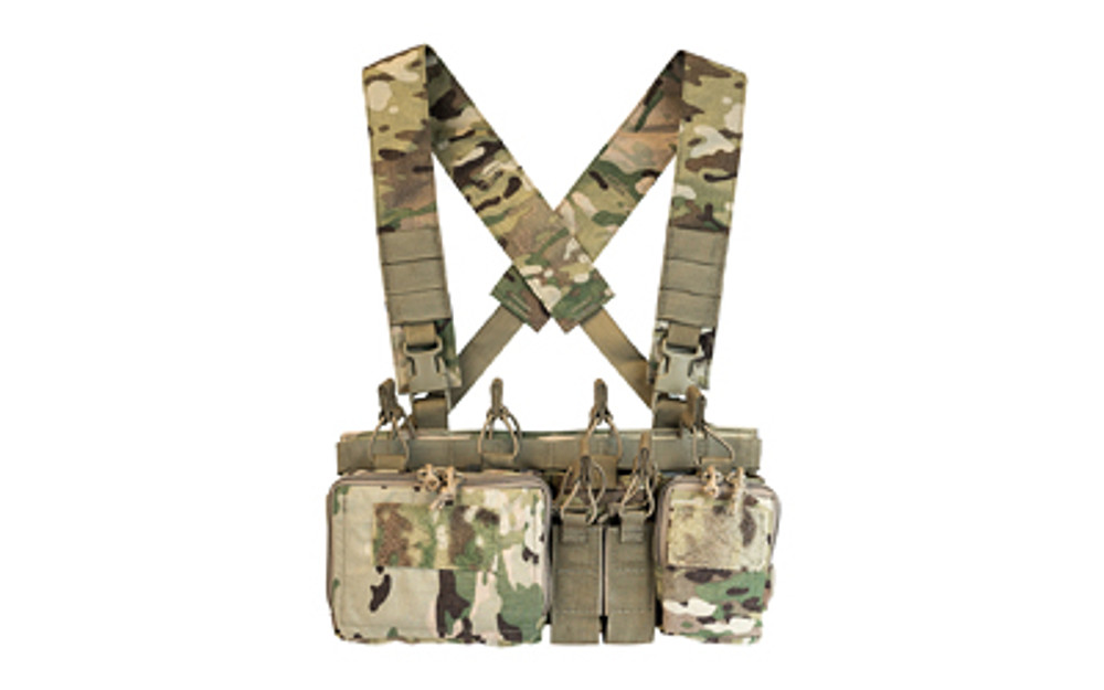 Haley Heavy Chest Rig Multicam - HSPD3CRXH-MULTICAM