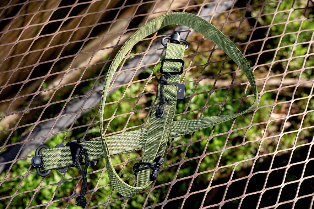 The Stupid Quick QD Sling - 1 or 2 point (GEN II) in OD Green