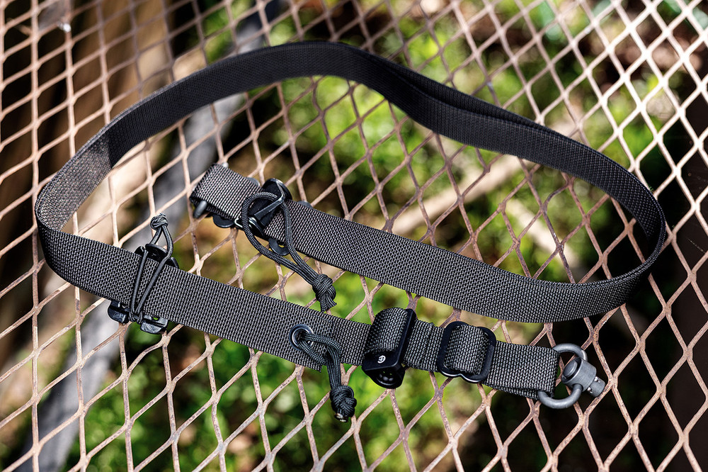 The Stupid Quick QD Sling - 1 or 2 point (GEN II) in Black