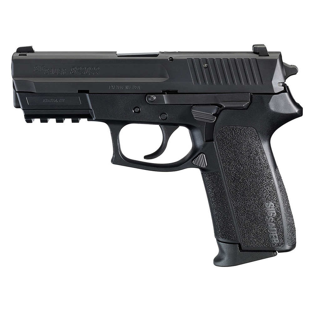 "Sig 2022 9mm 3.9"" 15rd Blk Fs 2mags"